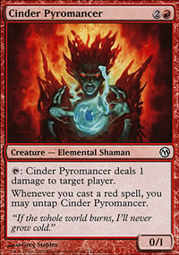 Cinder Pyromancer - Duels of the Planeswalkers