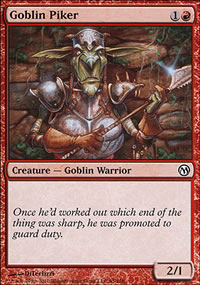 Goblin Piker - Duels of the Planeswalkers