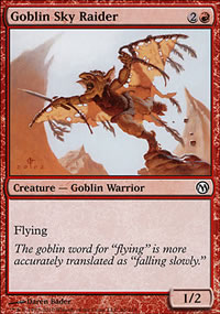 Goblin Sky Raider - Duels of the Planeswalkers