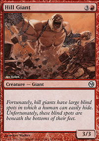 Hill Giant - Duels of the Planeswalkers
