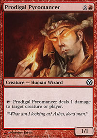Prodigal Pyromancer - Duels of the Planeswalkers