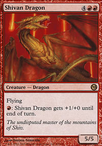 Shivan Dragon - Duels of the Planeswalkers