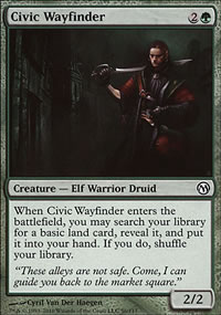Civic Wayfinder - Duels of the Planeswalkers