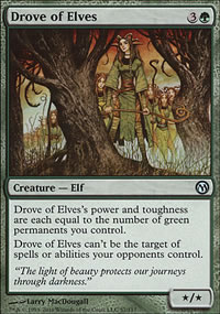Drove of Elves - Duels of the Planeswalkers