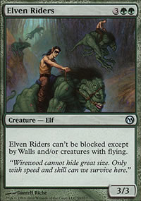 Elven Riders - Duels of the Planeswalkers