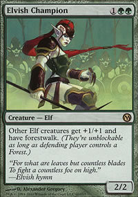 Elvish Champion - Duels of the Planeswalkers