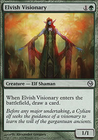 Elvish Visionary - Duels of the Planeswalkers