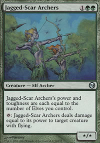 Jagged-Scar Archers - Duels of the Planeswalkers