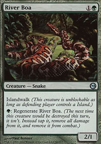 River Boa - Duels of the Planeswalkers