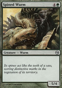 Spined Wurm - Duels of the Planeswalkers