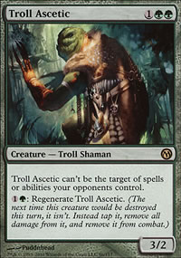 Troll Ascetic - Duels of the Planeswalkers