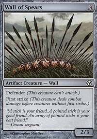 Wall of Spears - Duels of the Planeswalkers