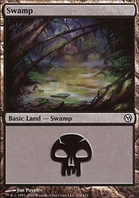 Swamp 3 - Duels of the Planeswalkers