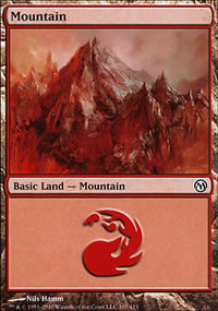 Mountain 2 - Duels of the Planeswalkers