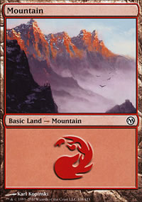 Mountain 3 - Duels of the Planeswalkers