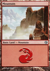 Mountain 4 - Duels of the Planeswalkers