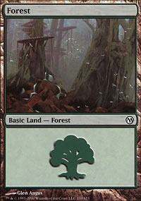 Forest 1 - Duels of the Planeswalkers