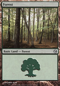 Forest 2 - Duels of the Planeswalkers