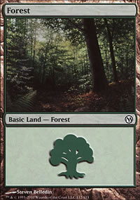 Forest 3 - Duels of the Planeswalkers