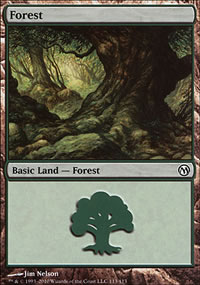 Forest 4 - Duels of the Planeswalkers
