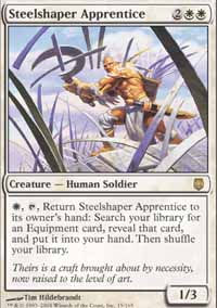 Steelshaper Apprentice - Darksteel