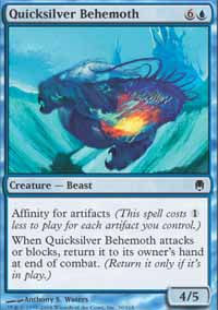 Quicksilver Behemoth - Darksteel