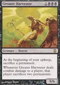Greater Harvester - Darksteel