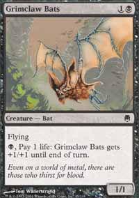 Grimclaw Bats - Darksteel