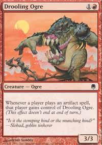 Drooling Ogre - Darksteel