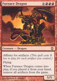 Furnace Dragon - Darksteel
