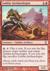 Goblin Archaeologist - Darksteel
