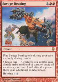 Savage Beating - Darksteel