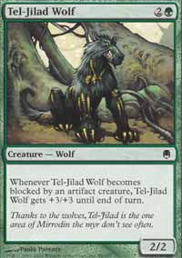 Tel-Jilad Wolf - Darksteel