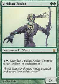 Viridian Zealot - Darksteel
