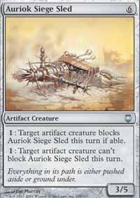 Auriok Siege Sled - Darksteel