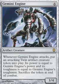 Gemini Engine - Darksteel