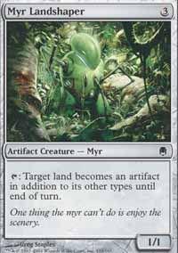 Myr Landshaper - Darksteel