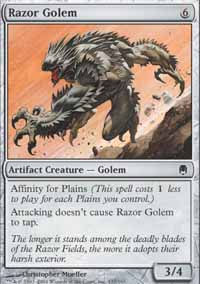 Razor Golem - Darksteel