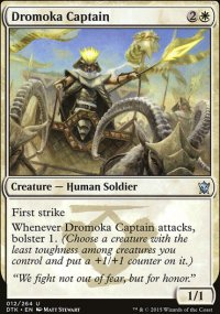 Dromoka Captain - Dragons of Tarkir
