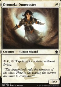 Dromoka Dunecaster - Dragons of Tarkir