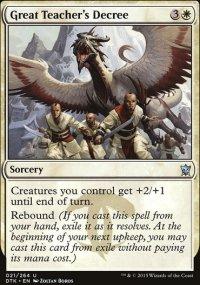 Great Teacher's Decree - Dragons of Tarkir