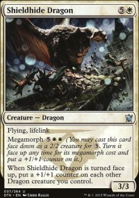 Shieldhide Dragon - Dragons of Tarkir