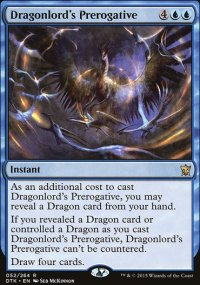 Dragonlord's Prerogative - Dragons of Tarkir