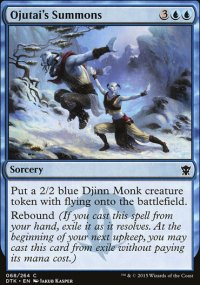 Ojutai's Summons - Dragons of Tarkir
