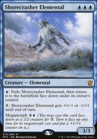 Shorecrasher Elemental - Dragons of Tarkir