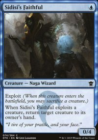 Sidisi's Faithful - Dragons of Tarkir