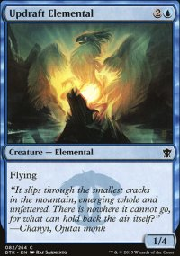 Updraft Elemental - Dragons of Tarkir