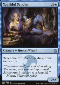 Youthful Scholar - Dragons of Tarkir