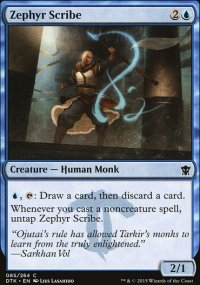 Zephyr Scribe - Dragons of Tarkir