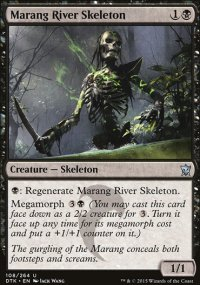Marang River Skeleton - Dragons of Tarkir